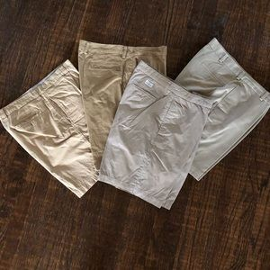 3 MENS Khaki Shorts